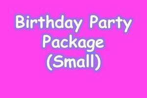 BIRTHDAY PARTY PACKAGE (SMALL)