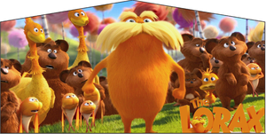 The Lorax- 15x15 Pink