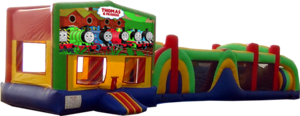 Thomas and Friends- 53' Obstacle Bouncer Combo