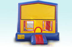 15X15 Character Themed Bounce House - Basketball Hoop Inside