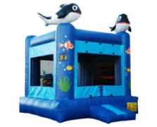 Seaworld Bounce House (15x15)