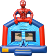 Spiderman Bounce House (15x15)
