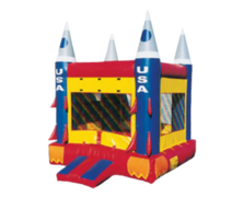 USA Rocketship Bounce House (15x15)
