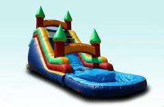 16'H Backloader Water Slide-Wide Lane