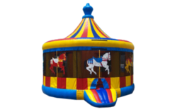 Carousel Bounce House (16x16)