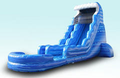 22ft Tsunami Water Slide Single Lane