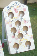 Bean Bag Toss Wooden Carnival Game