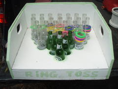 Bottle Toss Wooden Carnival Game