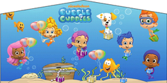 Bubble Guppies- 53' Obstacle Bouncer Combo