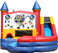 Buzz Lightyear- 4n1 Curvy Slide Combo