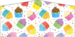 Cup Cakes- 4n1 Curvy Slide Combo