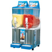 Double Barrel Slushy Machine