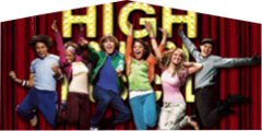 High School Musical 2 Panel