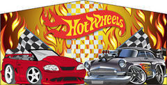 Hot Wheels- 15x15