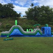 Blue Crush Obstacle Course (Single- 40' Long)