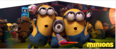Minions Movie- 4n1 Curvy Slide Combo