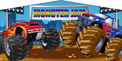 Monster Trucks- 4n1 Curvy Slide Combo