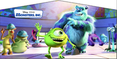 Monster Inc- 4n1 Curvy Slide Combo
