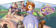 Sofia the First- 4n1 Curvy Slide Combo