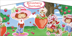 Strawberry Short Cake- 15x15 Pink