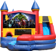Avengers Movie- 4n1 Curvy Slide Combo