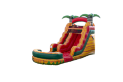 15ft Tropical Fiesta Breeze Waterslide (Single Lane)