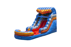 13ft Fireblast Tsunami Waterslide (Single Lane)