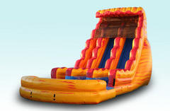 22ft INFERNO Water Slide Dual Lane