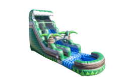 18ft Emerald Crush Tsunami Water Slide (Single Lane)
