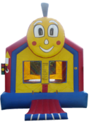 Choo Choo Train Bounce House- (B-3)