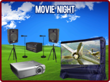Outdoor Movie Theatre Package