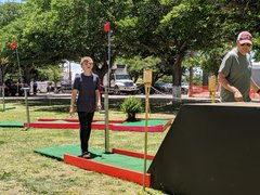 Miniature Putt Putt Golf