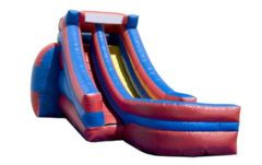 Single Lane Wet/Dry Slide (Colors Vary)