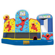 Elmo Waterslide, Obstacle Combo