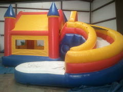 Castle Bounce Water Slide (MNW-CS+SLW-CA)