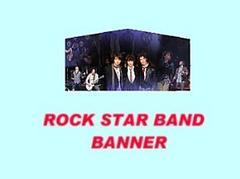 Rock Star Band Banner