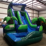 16' Curved Water Slide