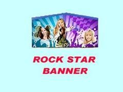 Rock Star Girl Banner