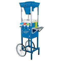 Snowcone Machine w/Cart (CON-S2)