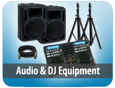 Audio and DJ Equipment
