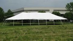 40x40 0n up to 40x100 tent