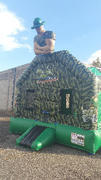 Camouflage Drill Sergeant Bounce house/with hoop
