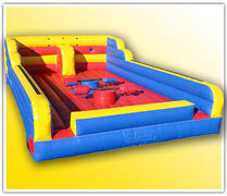 Joust-bungee run-twister combo 3 in 1