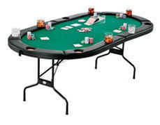 texas holdem/poker table