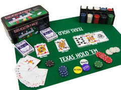 texas holdem cards and poker chips