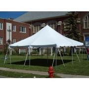 20x20 Pole Tent Customer Pick UP