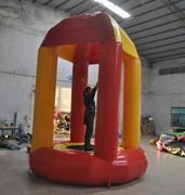 Trampoline bounce with inflatable rental