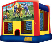 Football fun Bounce Customer Pick Up