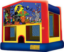 Scary Halloween Fun Bounce House