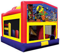 Scary Halloween Ultimate Moon Bounce